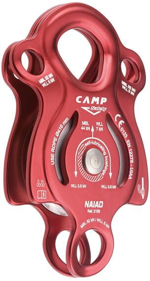 Camp Naiad katrol rood